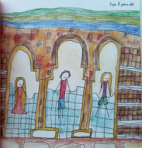 Рисунка на дете, участвало в Творческа ваканция 2014г