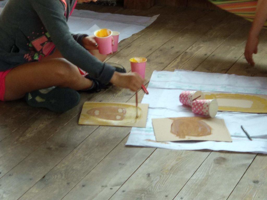 творения на децата Творческа ваканция 2018г Ковачевица